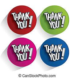 Thank You - Creative Thank You, Show Gratitude Design vector...