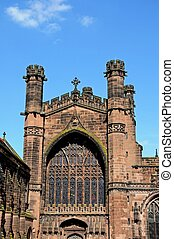 Chester Cathedral. - Cathedral Church of Christ and The...