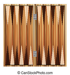 backgammon - Backgammon on a white background. Vector...