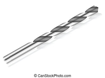 drill bit - Drill bit on a white background