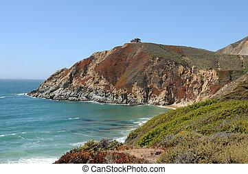 Graywhale Cove State Beach, near Montara, California
