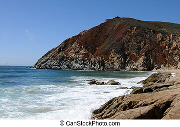 Graywhale Cove State Beach, near Montara, California