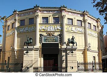 Cirque d hiver Paris - Cirque d hiver, Winter Circus, in the...