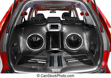car audio system - car power audio system