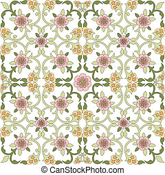 floral background one