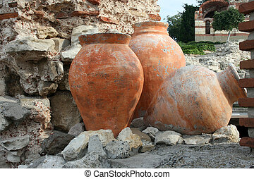 Nessebar, Bulgaria, artifacts