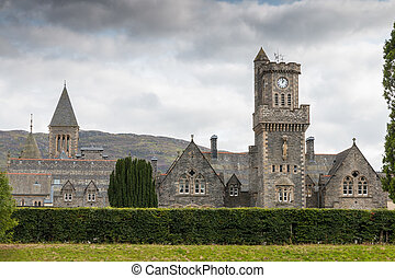 Fort Augustus Church - Church at Fort Augustus next to the...