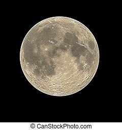 Full moonscape