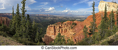 Black Birch Canyon-Bryce Canyon Nationa Park - Panoramic...