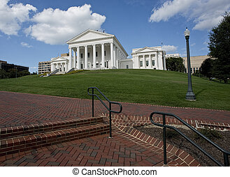 Virginia State Capital Building. - Virginia State Capital...