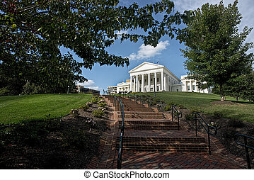 State Capital of Virginia. - Virginia State Capital building...