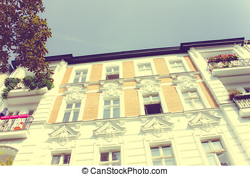 Residential House in Berlin - Old Restored Apartment House...