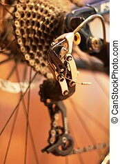 mountain bike gears rear derailleur mech