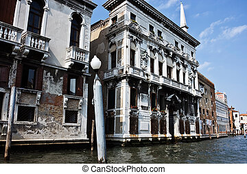 The fine house on the main canal in Venice