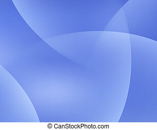Blue Sky Abstract Background with Light Waves Vector