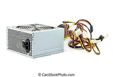 power supply isolated - computer power supply unit isolated...