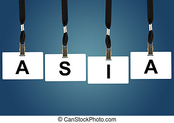 asia word