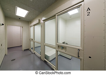 Detention cells - New detention cells at a court house