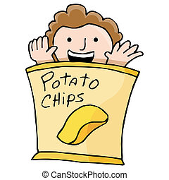 Potato Chip Kid