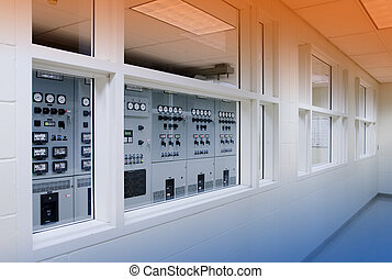 Electrical control room - electrical control room in...