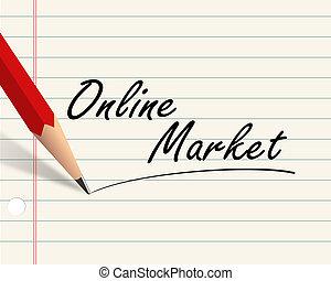 Pencil paper - online market
