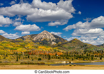 Fall in Steamboat Springs Colorado - Hahn Peak near...