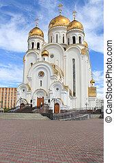 Church of the Nativity. Krasnoyarsk
