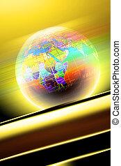 world on light - world on officelight