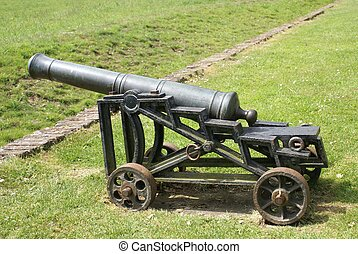 cannon . artillery. old weapon