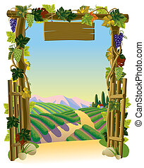 Vineyard Gate