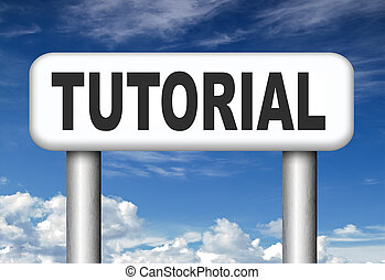 tutorial road sign learn online video lesson or class,...