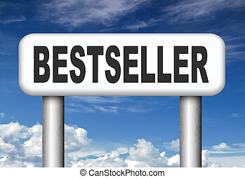bestseller top product, most wanted item best selling book...