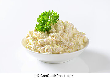 Horseradish sauce - Grated horseradish combined with salad...
