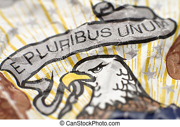 E pluribus unum - E Pluribus Unum included in the Seal of...