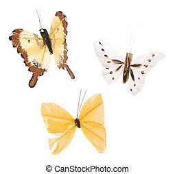 Handmade scrapbooking butterflies