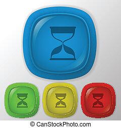 hourglass waiting