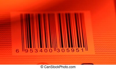 Bar Code Label? - Close up of a standard barcode label