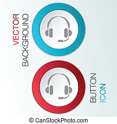 customer support, headphone - customer support avatar,...
