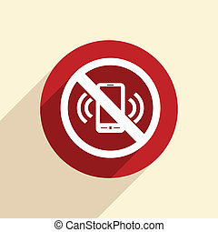 forbidden to use mobile phone