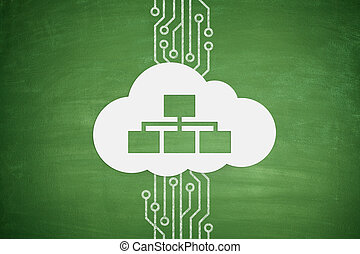 Cloud computing concept on Blackboard - Cloud computing...