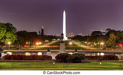 The Mall Smithsonian Washington Monument US Grant Memorial...