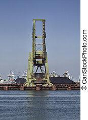 coal industry in the harbor