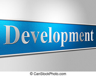 Development Develop Indicates Regeneration Progress And...