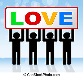 Romance Love Represents Heart Dating And Fondness
