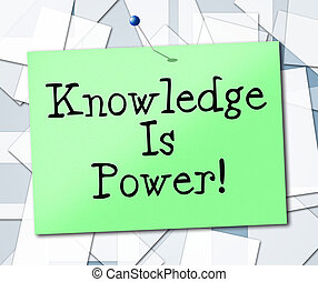 Knowledge Is Power Represents University College And...
