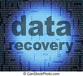 Data Recovery Shows Getting Back And Bytes - Data Recovery...