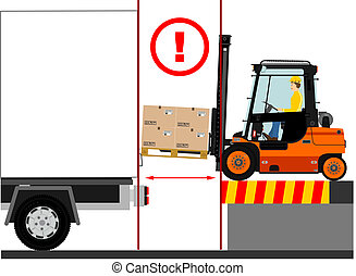 Forklift - Dangers of working with a forklift truck