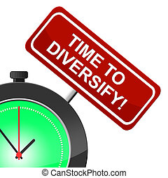 Time To Diversify Represents At The Moment And...