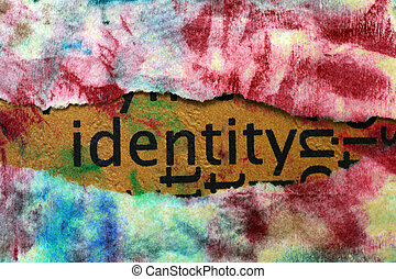 identidad, concepto