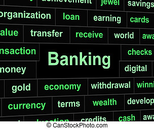 Finances Banking Indicates Figures Business And Trading